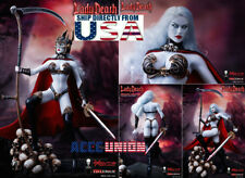 TBLeague PHICEN 1/6 Lady Death Premium Figure Set PL2017-104B Death Warrior USA