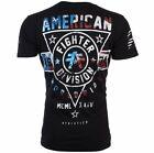AMERICAN FIGHTER Men's T Shirt SILVER LAKE PATRIOT Athletic Biker MMA S 4XL