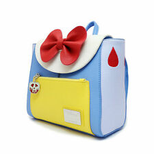 Loungefly Collaboration Disney Snow White Mini Backpack Blue/Yellow NEW w/ Tags