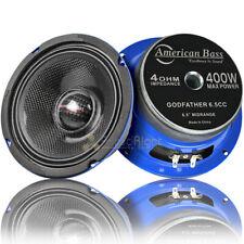 "American Bass 6.5"" altavoces de rango medio 400 vatios máximo 4 Ohm padrino 6.5CC Par"