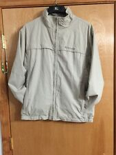 Mens Columbia Zip Up Jacket Size L/awesome Style/very Stately