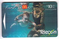 OCEANIE  TELECARTE / PHONECARD .. NOUVELLE ZELANDE 10$ GPT261C MC DONALD'S NEUVE