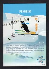 Grenada 2007 Pengiun on snow skis Minisheet MNH  Sc 3648