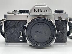 Nikon FM in Top Zustand - analoges SLR Gehäuse #2410708-38