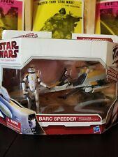 Star wars Clone Wars BARC Speeder with Clone Commander Cody.