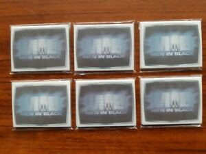 . KRAFT SHRINKIES LOT OF 6 1997 MEN IN BLACK SETS OF 15 PLASTIC CARDS RARE