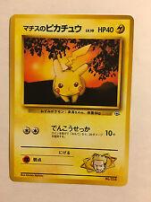 Pokemon Card / Carte Pikachu LV.10 No.025 Card Game