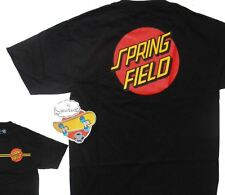 Santa Cruz Homero Simpson Skate Usa Pantalla Impreso Camiseta-De Hombre Talla Xlarge