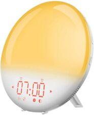 Wake Up Light Alarm Clock, Mpow Sunrise Alarm Clock L26+