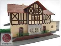 N escala 1:160 trenes maqueta casas edifcios houses Arnold rapido estación