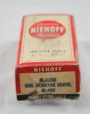 Niehoff Ignition AL-125B Coil Resistor Servs. AL-402 New Old Stock In Box B19