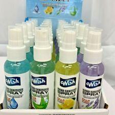 Wish Alcohol Based Hand Sanitizer 3 Bottles Spray 60ml / 2oz