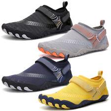 Zapatos De Agua Ligero Hombres Secado Rápido Descalzo Zapatos deportivos de Natación Buceo Surf AQUA
