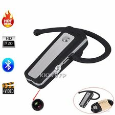 1080P 720P Mini DVR HD Bluetooth Headset Camera Hidden Video Recorder Camcorder