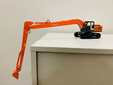 Hitachi ZAXIS 200 Long Reach Excavator Metal Tracks 1:50 Scale DieCast Model