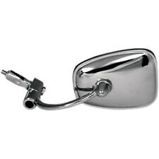 "Emgo Chrome Bar End Motorcycle Mirror Left OR Right for 7/8"" Handlebar"