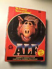 Alf TV show cards series 2 opc Rare full box 1987