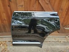 2008-2010 PORSCHE CAYENNE REAR LEFT LH DRIVER SIDE DOOR SHELL BLACK USED OEM