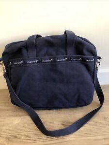 Canvas Banker Bag Credit Suisse Satchel