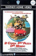 La corsa più pazza del mondo (1976) VHS  Warner H.V.  1a Ed.  - Unica eBay