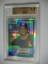 YOVANI GALLARDO 2006 Bowman Chrome Draft FG Refractors #13 BGS GEM MINT 9.5 RC