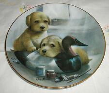 Decoy Delight Plate Puppy Pals Coa