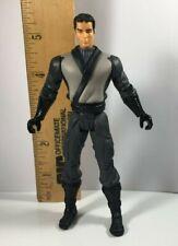 2005 Dc Comics Batman Begins Bruce Wayne Duel Blade Action Figure Ninja Training