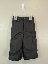 Columbia Toddler size 2T Black Insulated Snow Pants