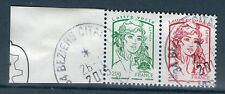 RARE PAIRE 4767+4774 HORIZONTALE OBLITEREE  - ISSUE DE FEUILLE F4774A - #1