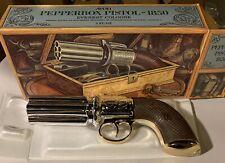 Genuine Avon Tai Winds Cologne Pepperbox Pistol - 1850 Style w/ Original Box