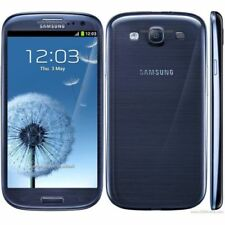"""4.8"""" Samsung Galaxy S3 I9300 8MP 3G Android 16GB Débloqué Téléphone Bleu"""