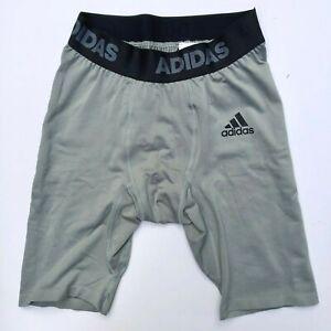 adidas Men's Fielder's Choice 2.0 Baseball Sliding Shorts CY2053 - Grey Sz L