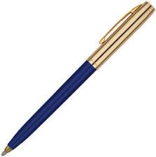 Fisher Space Pen - Blue & Brass Cap-O-Matic Ballpoint Pen NEW  S251G-BL
