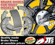 KAWASAKI KT250 All models (75 76 77 78 79 80) FRONT DRUM BRAKE SHOES Japan Made