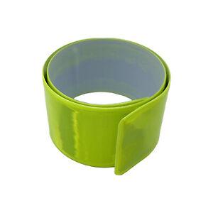 Slap On Bracelet | Neon Yellow | Jogging | Night