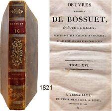 Oeuvres choisies de Bossuet T.16 Lebel 1821 Histoire des variations 2