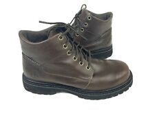 Timberland Women's SZ 7.5M Premium 5-inch Brown Ankle Boots Waterproof Leather