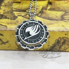 """Anime Fairy Tail Guild 2"""" Metal Pendant Necklace Chain Loose Pack Cosplay"""