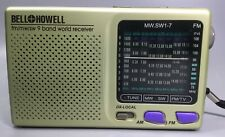 Bell and Howell 9 Band Radio With TV Sound FM (TV)/MW/SW1-7