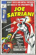 Joe Satriani autographed gig poster Silver Surfer, Marvel Comics