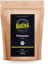 Psyllium bio 1kg Graines entières Pureté 99%  Sans lactose, sans gluten, végan