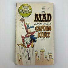 Signet 1967 Paperback The MAD Adventures Of Captain Klutz Comic Book - 1st Print