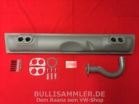 VW Bus Bulli T2 T3 Abgasanlage CU CJ DG DF 2.0 1.9 WBX LBX Typ4 411 412 (-062)