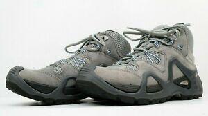 LOWA Climate Control Women's Vento QC Hiking Boots Gray Sz US 6.5 EU 37.5