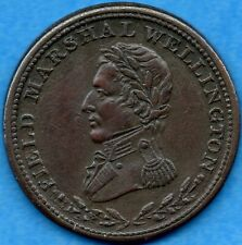Wellington 1813 Engrailed Edge 1/2 Half Penny Token WE-1A3