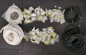 Tower Conduit Trunking Fittings and Flexible Conduit 20mm & 25mm - Job Lot