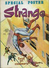 RARE EO STRANGE N° 70 OCTOBRE 1975 + POSTER DE DAREDEVIL & SPIDER-MAN
