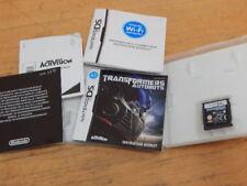 TRANSFORMERS AUTOBOTS  NINTENDO GAME DS / DS LITE / DSi GENUINE