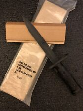 Vintage Imperial US M6 Vietnam Era Fixed Boyonet Knife NOS! LOOK!