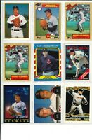 Lot of (60) Roger Clemens Vintage Baseball Cards MLB Boston Red Sox - SHARP!